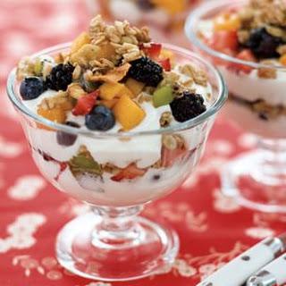 Yogurt Sundaes