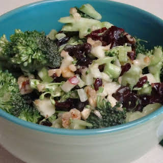 Broccoli Cran-Apple Salad.