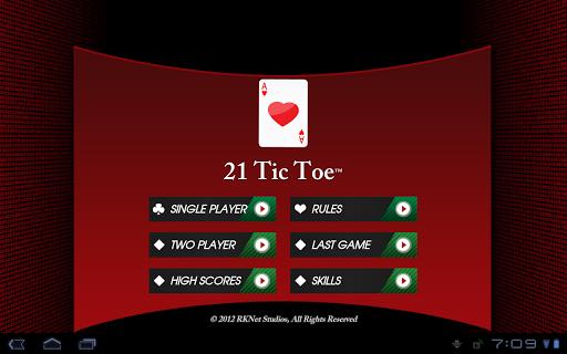 21 Tic Toe