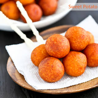 Sweet Potato Balls.