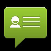 vCard via SMS