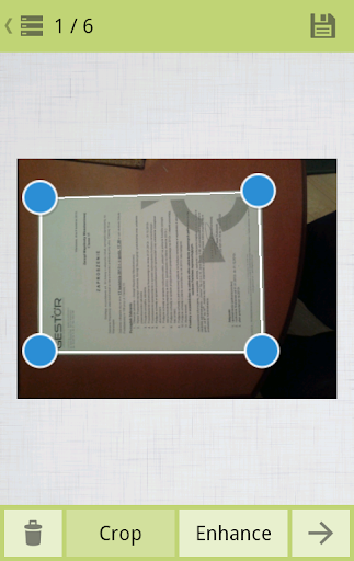 Document scanner PDF