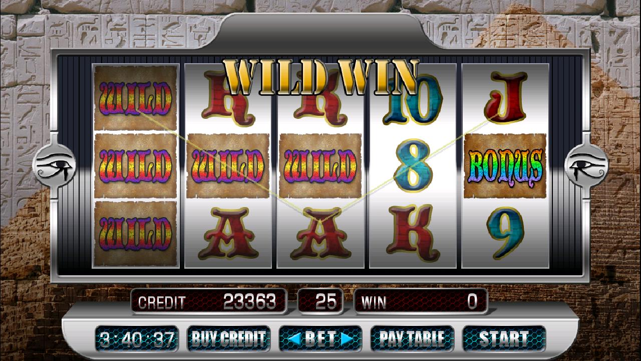 Credit slots pharaoh's way