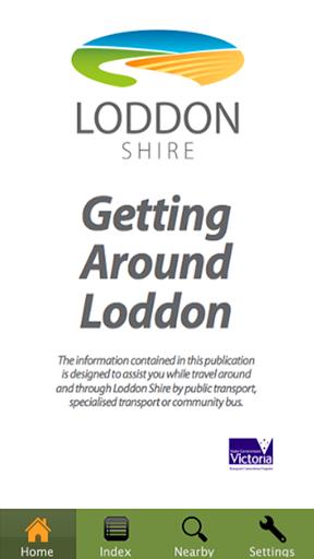 Getting Around Loddon