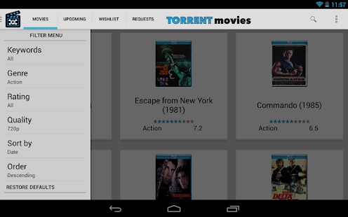 Torrent Movies - YiFy Torrents - screenshot thumbnail