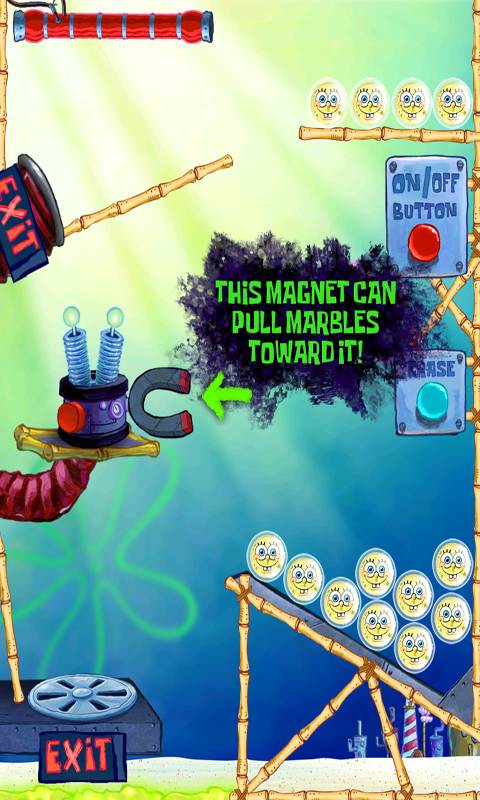 SpongeBob Marbles & Slides- screenshot