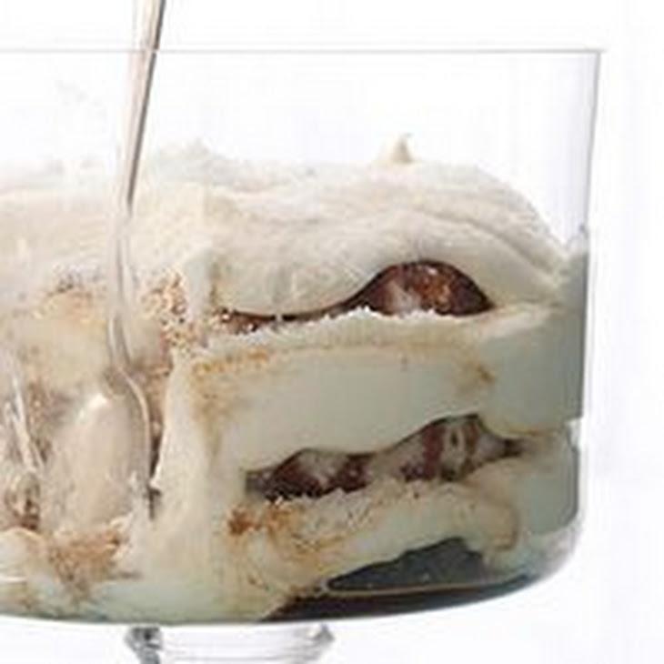 White Chocolate Tiramisu Trifle Recipe