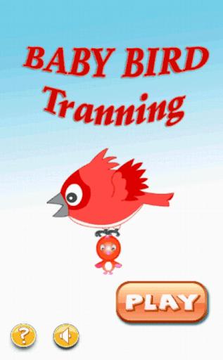 Baby bird training