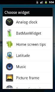 BatManWidget- screenshot thumbnail