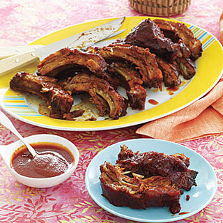 Rum-Glazed Spare Ribs