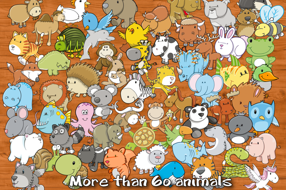 Animal Learning Puzzle- screenshot