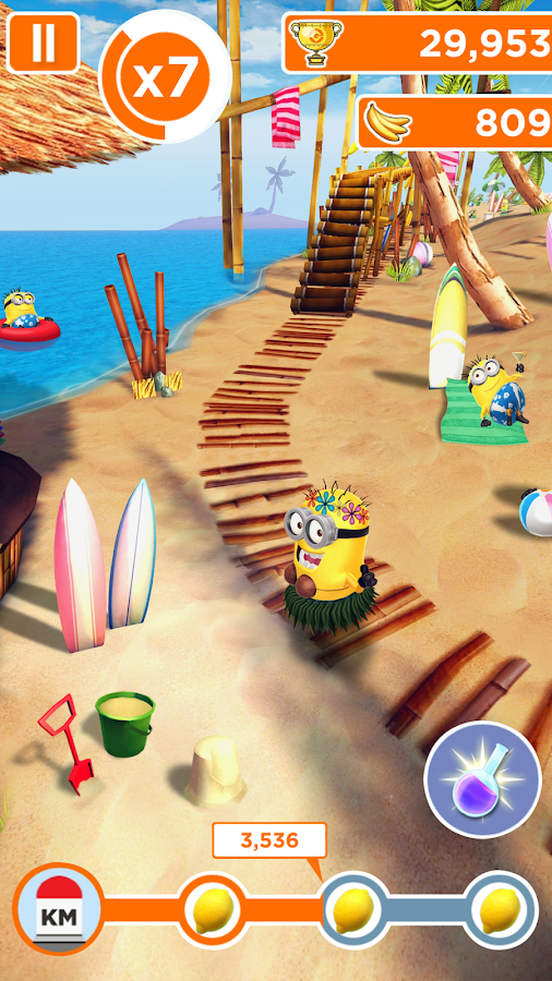 Minion Rush: Despicable Me Official Game- screenshot