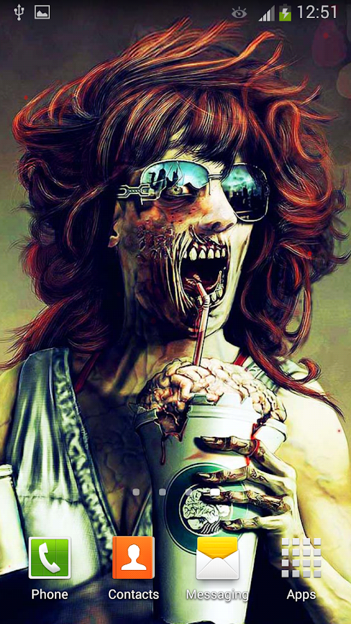zombies live wallpaper android apps on google play