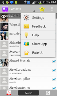 Contacts to Text - screenshot thumbnail