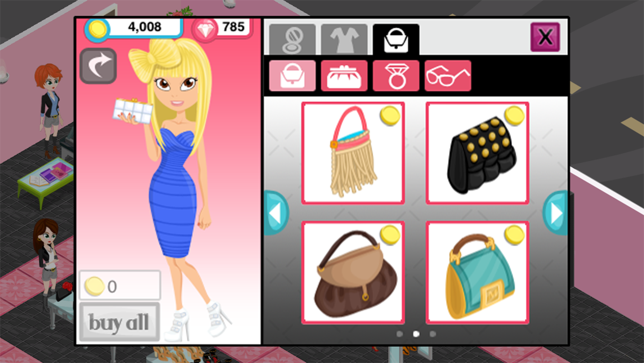 A Fashion Story Game Fashion Story screenshot