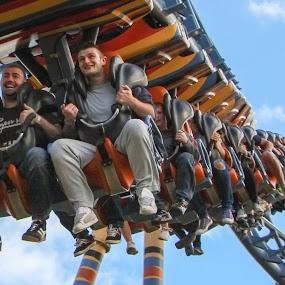 Human Millipede  by Colin Wood - City,  Street & Park  Amusement Parks (  )
