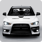 Mitsubishi Evo 10 Wallpaper 3D