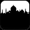 Taj Mahal Silhouette icon