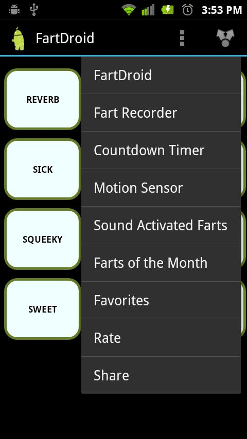 FartDroid Fart Machine - screenshot