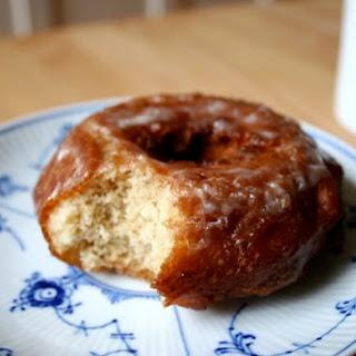 Glazed Buttermilk Cake Doughnuts