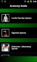 Screenshot of Anatomy Guide (Pocket Book)