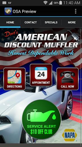 Daves American Muffler