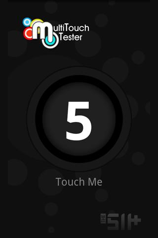 MultiTouch Tester– скриншот