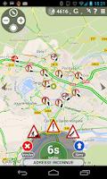 Screenshot of Traffic, Radars & GPS - Glob