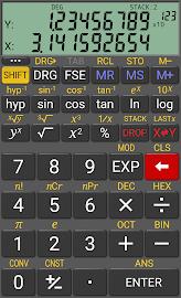 RealCalc Scientific Calculator Screenshot 2