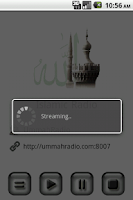Screenshot of Islamic Radio Pro