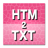 HTM to TXT Converter