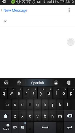 Spanish Language - GO Keyboard 3.1 screenshot 216212