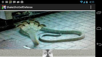 Screenshot of ShakeShotSelfDefense