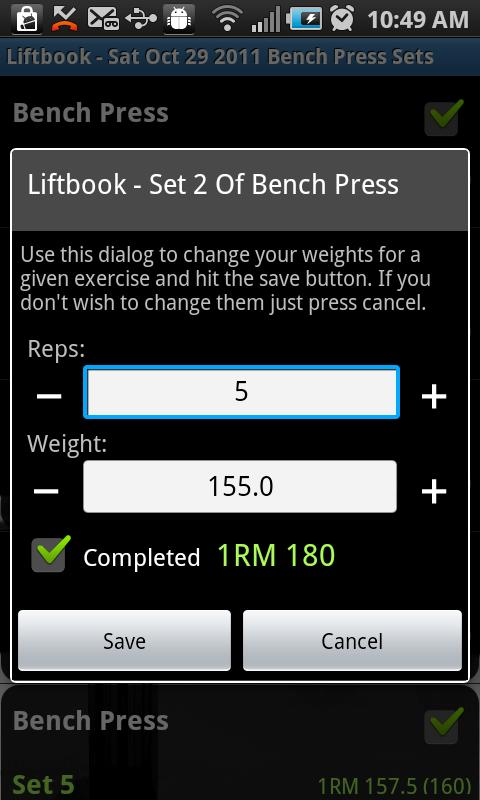 Liftbook - screenshot