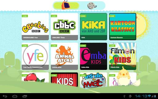 【免費媒體與影片App】my Kids TV-APP點子