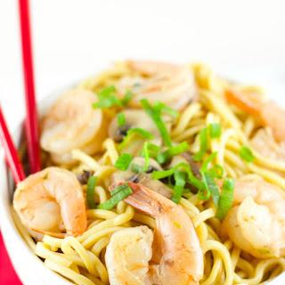 Sesame Shrimp Noodles.