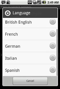 Speak SMS - screenshot thumbnail