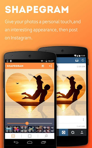 Shapegram-Add shapes to photos