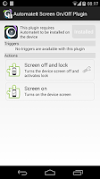 Screenshot of AutomateIt Screen On-Off&Lock