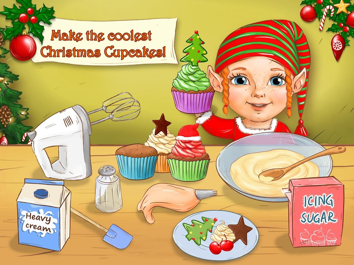 Santa's Christmas Kitchen- screenshot