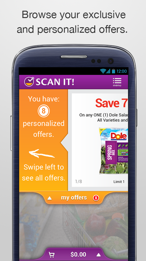 Stop & Shop SCAN IT! Mobile- screenshot