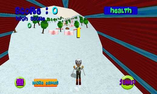 Ski Sim: Cartoon