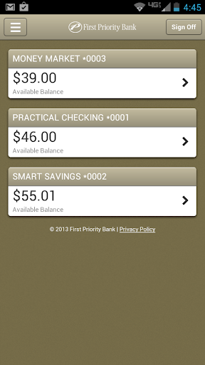 First Priority Mobile Banking