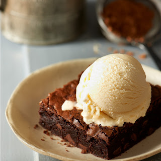 Decadent Brownies a la Mode