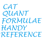 Useful CAT Quant Formulas