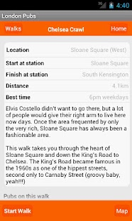 London Pub Crawls and Walks- screenshot thumbnail