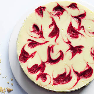 An Almond-Crust Raspberry Cheesecake for National Dessert Day.
