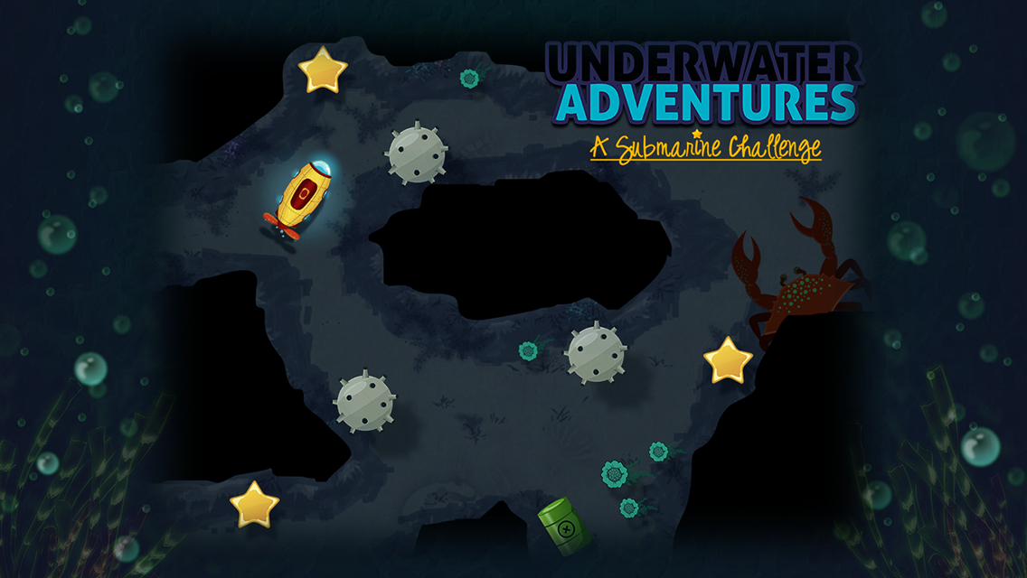 Underwater Adventures Free- screenshot