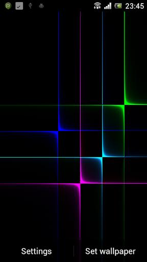 Nexus Neon Grid Pro HD LWP
