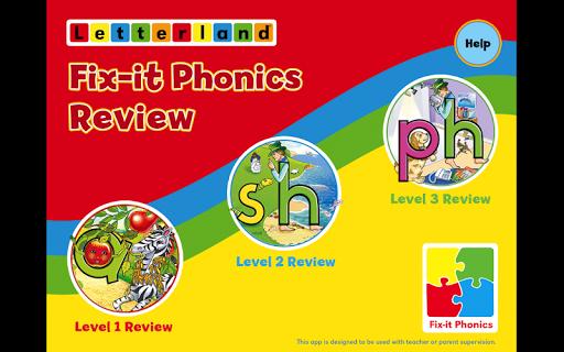 教育必備APP下載|Fix-it Phonics Review 好玩app不花錢|綠色工廠好玩App
